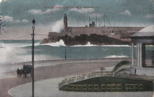 CUBA, PU-1910; The Morro Castle In A Storm Day