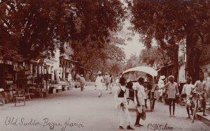 RP: JHANSI , India , 1900-10s ; Old Sudder Bazar , Street View