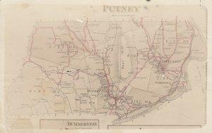 RP: PUTNEY , Vermont , 1900-10s ; Map
