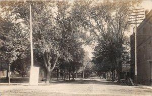 G24/ Jonesville Michigan RPPC Postcard 1908 View of Park Homes