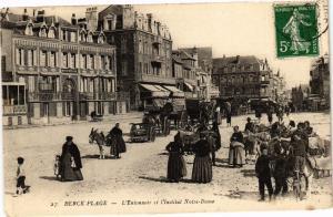 CPA BERCK-PLAGE - L'Entonnoir et l'Institut Notre Dame (129320)