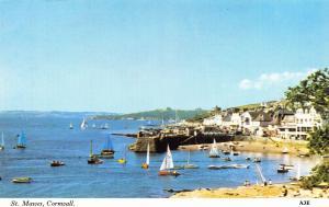 Vintage Postcard CORNWALL St Mawes by H. Barton #A3E