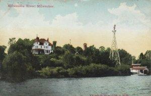 MILWAUKEE, Wisconsin, 1912; Milwaukee River