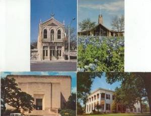 4PC, Including Texas Memorial Museum, Austin, Texas, PU-40-60s