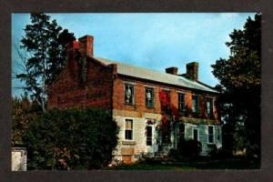 KEOSAUQUA IOWA IA Benjamin F Pearson House Postcard PC