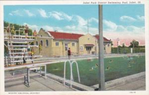 Illinois Joliet Park District Swimming Pool Curteich