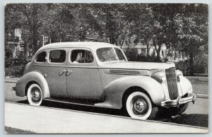 Madison Wisconsin~Madison Motors Co~107 East Doty Street~1930s Car~Adv PC