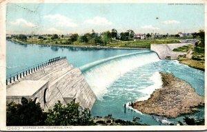 Ohio Columbus Storage Dam 1909 Detroit Publsihing