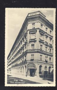 WIEN GERMANY HOTEL HAMMERAND DOWNTOWN ANTIQUE VINTAGE POSTCARD