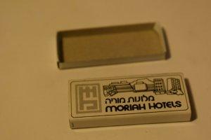 Moriah Hotels Israel Matchbox
