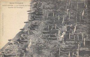 Vue Generale des Ruines St. Pierre Martinique Unused