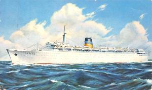 Q.S.S. Arkadia, Steam Ships 1964