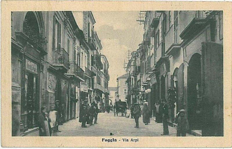 CARTOLINA d'Epoca - FOGGIA Citta' 1918