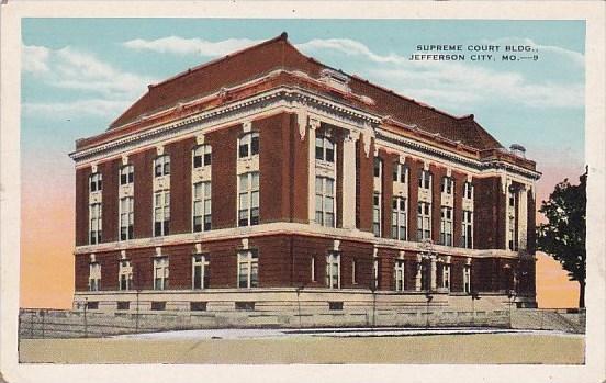 Supreme Court Building Jefferson City Missouri