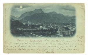 GRUSS aus Reichenhall, Germany.  1898