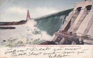 Falls Of The Great Northern Water Power Plant At Thompson, Near DULUTH, Minne...