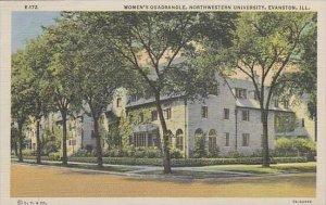 Illinois Evanston Womens Quadrangle Northwestern University