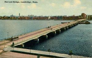 MA - Cambridge. Harvard Bridge