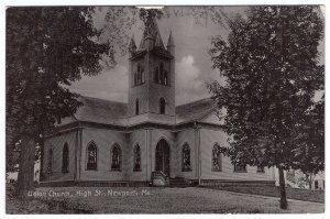 Newport, Me, Union Church, High St.
