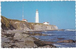 Lighthouse, CAP DESROSIERS NORTH GASPESIA, Quebec, Canada, PU-1987