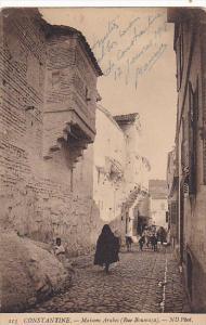 Algeria Constantine Maisons Arabes Rue Boumaza 1919