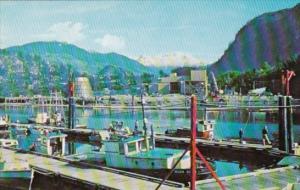 Canada Small Boat Harbour Squamish British Columbia
