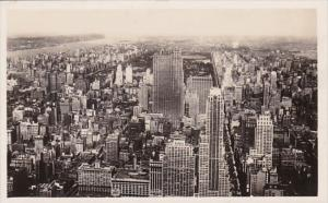 New York City North View From Empire State Building Real Photo