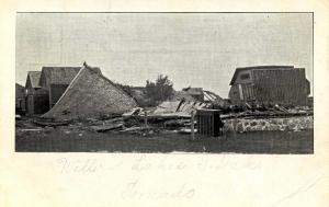 SD - Willow Lakes. August 20, 1904. Tornado Ruins