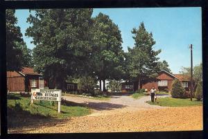 Gilbertsville, Kentucky/KY Postcard, Gibbs Cottages, US Highway 641