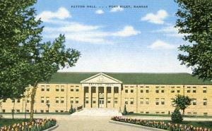 KS - Fort Riley. Patton Hall