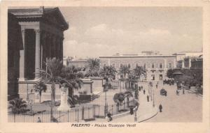 PALERMO SICILY PIAZZA INDIPENDENZA POSTCARD 1910s