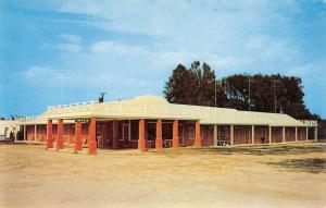 Petersburg Virginia Motor Court Street View Vintage Postcard K55828