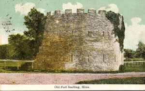 Minnesota St Paul Old Fort Snelling Round Tower 1911