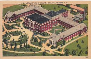 Airplane View Of Columbia College