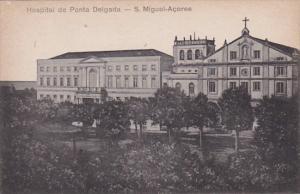 Azores San Miguel Hospital de Ponta Delgada