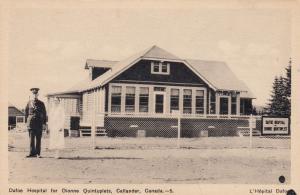 CALLANDER , Ontario , Canada, 1930s ; Dafoe Hospital for Dionne Quintuplets