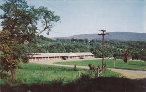 Carden's Motel, Routes 219, 460 and 100, RICH CREEK, Virginia, 40-60's
