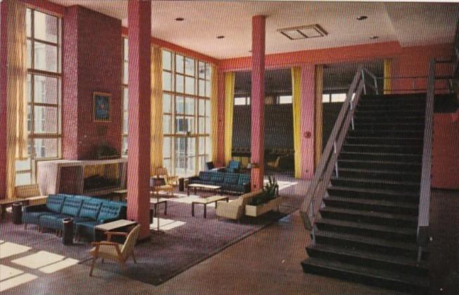 Mississippi Biloxi Vandenberg Hall Lounge Keesler Air Force Base