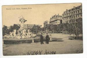 Fuente Lola Mora,Buenos Aires,Argentina 1900-10s