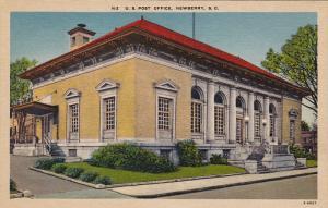 U. S. Post Office, NEWBERRY, South Carolina, 1930-1940s