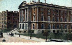 Institute of Technology Boston MA unused