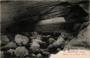 CPA MAS-d'AZIL (Ariege) - Intérieur de la Grotte Riviere (351050)