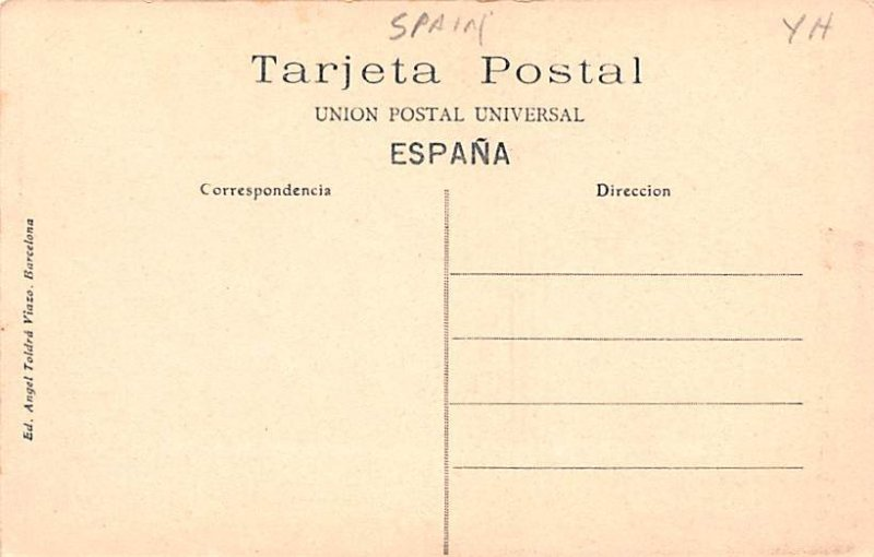 Catedral, Detalle de Capiteles Tarragona Spain Unused