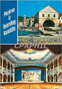Postcard Modern Hvar Theater
