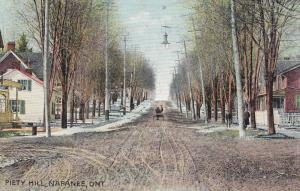 NAPANEE, Ontario, Canada, PU-1912; Piety Hill (Dirt Road Intersection)