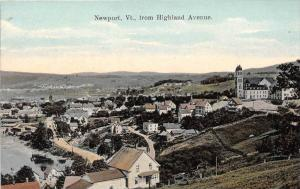 Aerial View of Newport Vermont