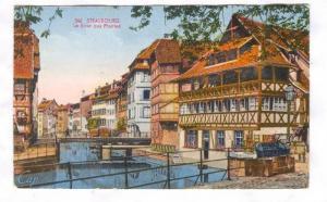 Strasbourg, Le Bain aux Plantes, France , PU-1924