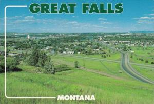 Montana Great Falls Panoramic View