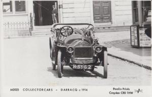 Alexandre Darracq French WW1 Wartime War Classic Car Real Photo Postcard