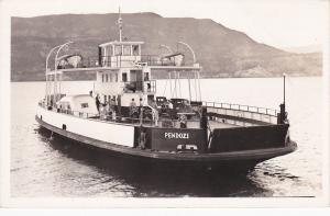 RP: Ferry Boat PENDOZI , Kelowna , B.C. , Canada , 1930s